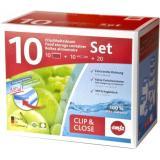 Emsa Clip & Close Frischhaltedosen 10-teilig