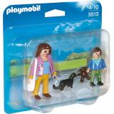 PLAYMOBIL� Dollhouse Duo Pack Mama mit Schulkind 5513