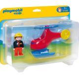 PLAYMOBIL� 1.2.3 Feuerwehrheli 6789