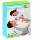 Bestway Luftbett Foamtop Comfort Queensize mit eingebauter Pumpe
