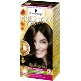 Schwarzkopf Country Colors Intensivt�nung 70 brazil dunkelbraun