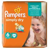 Pampers Simply Dry Gr. 6 extragro� 15+kg
