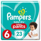 Pampers Baby Dry Pants Gr. 6 extragro� 16+kg