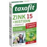 Taxofit Zink + Histidin und Vitamin C Depot Tabletten