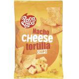 Poco Loco Nacho Cheese Tortilla Chips