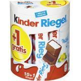 Kinder Riegel 10 + 1 gratis