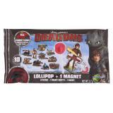 Dracco Candy Dragons Lollipop + Magnet