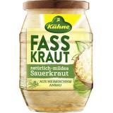 K�hne Fasskraut Sauerkraut nat�rlich-mild