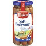 Meica Saft-Bockwurst