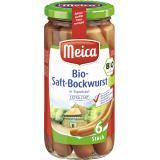 Meica Bio-Saft-Bockwurst