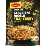 Maggi Magic Asia Gebratene Nudeln Thai-Curry