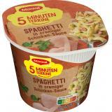 Maggi 5 Minuten Terrine Spaghetti in Schinkensauce