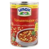 Unox Tomatensuppe mit Nudeln und Fleischkl��chen