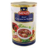 Menzi Kessel Gulasch-Suppe