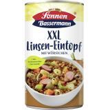Sonnen Bassermann Unser XXL Linsentopf mit leckerer Bockwurst