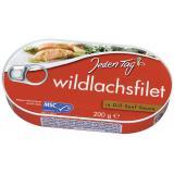 Jeden Tag Wildlachsfilet in Dill-Senf-Sauce