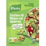 Knorr Salatkr�nung Croutinos mit Walnuss und Sojakernen