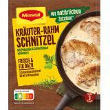 Maggi fix & frisch Kräuter-Rahm Schnitzel