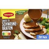 Maggi Delikatess Sauce zu Schweinebraten