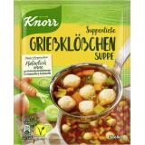 Knorr Suppenliebe Grießklößchen Suppe