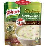 Knorr Feinschmecker Kartoffel Suppe mit Creme fraîche