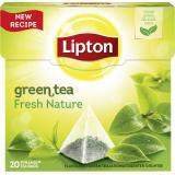 Lipton Green Tea Fresh Nature Pyramidenbeutel