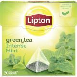 Lipton Green Tea Intense Mint Pyramidenbeutel