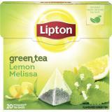 Lipton Green Tea Lemon Melissa Pyramidenbeutel