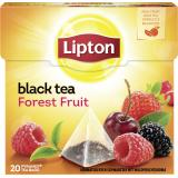 Lipton Black Tea Forest Fruit Pyramidenbeutel