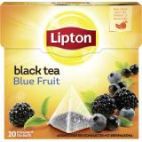 Lipton Black Tea Blue Fruit Pyramidenbeutel