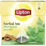 Lipton Herbal Tea Morocco Spicy Mint Pyramidenbeutel
