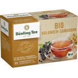 Bünting Tee Bio Holunder Sanddorn <nobr>(20 x 2 g)</nobr>