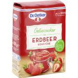 Dr. Oetker Gelierzucker f�r Erdbeer Konfit�re
