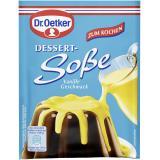 Dr. Oetker Dessert Soße zum Kochen Vanille
