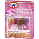 Dr. Oetker Happy Birthday Kerzen