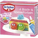 Dr. Oetker 4 Back- & Speisefarben