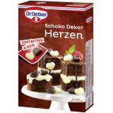 Dr. Oetker Schoko Dekor Herzen