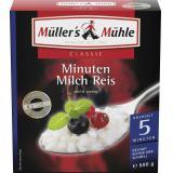 Müller's Mühle Minuten Milch Reis