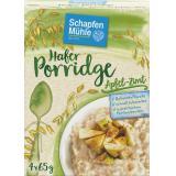 Schapfenm�hle Porridge Hafermahlzeit Apfel-Zimt