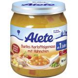 Alete Buntes Kartoffel-Gemüse mit Hühnchen