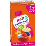 Hipp Früchte-Spaß Waldbeeren in Apfel-Pfirsich Vorteilspack