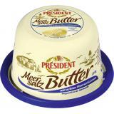 Président Meersalz-Butter mit echten Meersalzkörnern