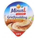 Minus L Grießpudding mit Zimt verfeinert