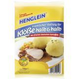 Henglein Fr�nkischer Klo�teig f�r Kl��e halb & halb