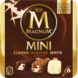 Magnum Mini Mix (Classic, Weiss, Mandel) Familienpackung Eis