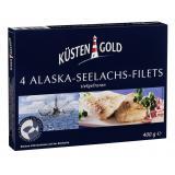 Küstengold Alaska Seelachs-Filets