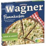 Original Wagner Herzhafter Flammkuchen Käse & Lauch