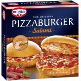 Dr. Oetker Pizzaburger Salami