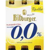 Bitburger 0,0% Radler alkoholfrei