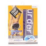 nur der Boxer Cotton 3D-Flex dynamic Gr. 8 XXL lila/grau